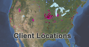 Client sites across North America